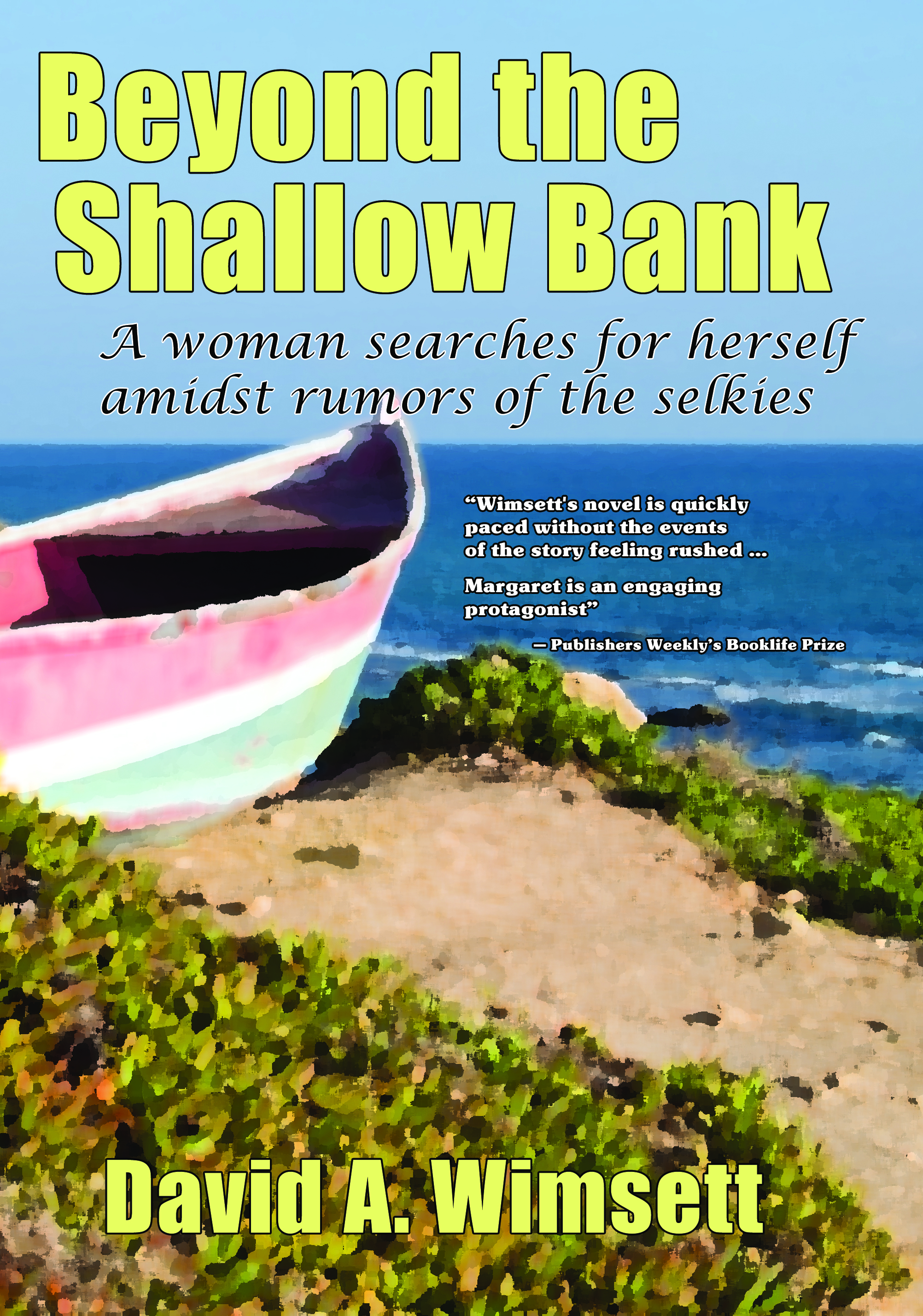 Beyond the Shallow Babnk: A novel of a woman searching for herself